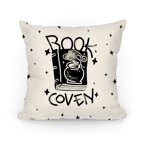 Book Coven Pillow