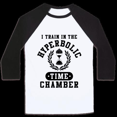 Hyperbolic Time Chamber Baseball Tee