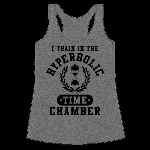 Hyperbolic Time Chamber Racerback Tank Top