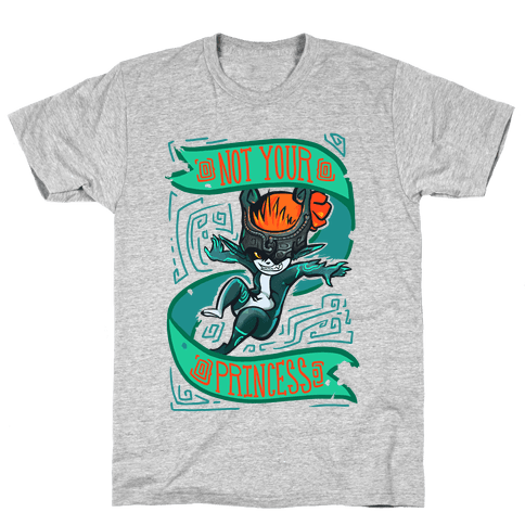 Midna: Not Your Princess Mens T-Shirt