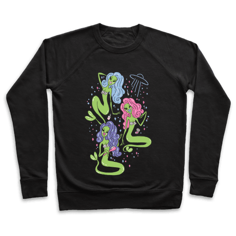 Mermaid Martians Pullover