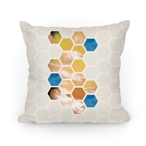 Cloud Collage Pillow
