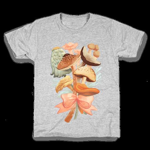 Bouquet Of Mushrooms Kids T-Shirt