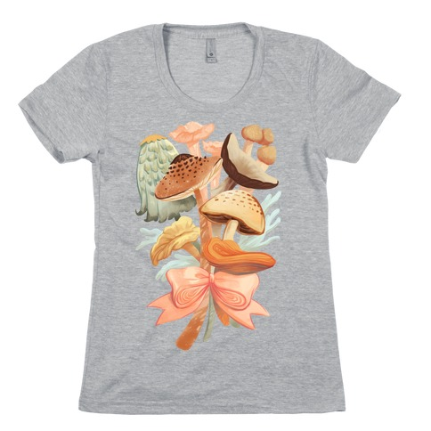 Bouquet Of Mushrooms Womens T-Shirt