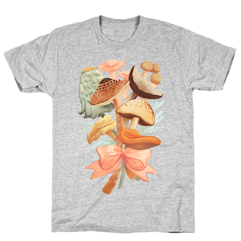 Bouquet Of Mushrooms Mens T-Shirt