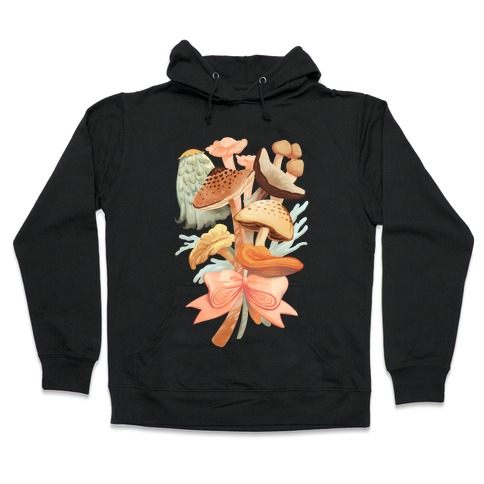 Bouquet Of Mushrooms Hooded Sweatshirt
