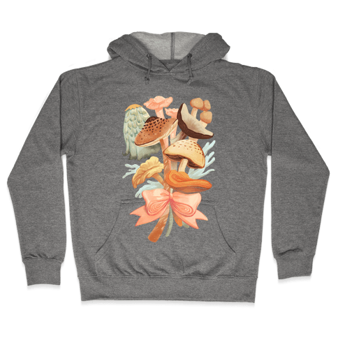 Bouquet Of Mushrooms Hooded Sweatshirt