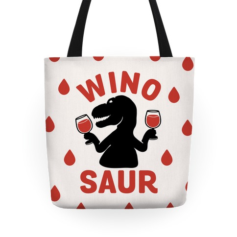 Winosaur Tote