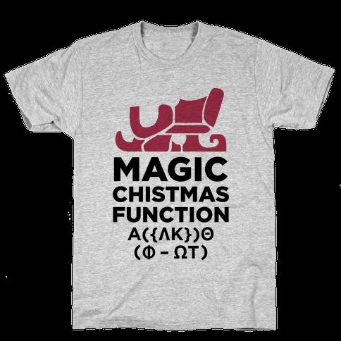 Magic Christmas Function Mens T-Shirt