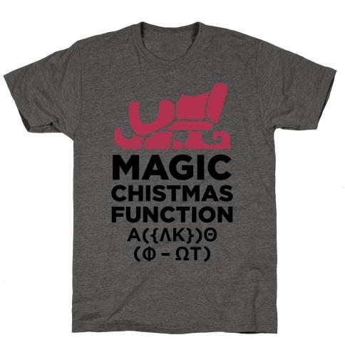 Magic Christmas Function T-Shirt