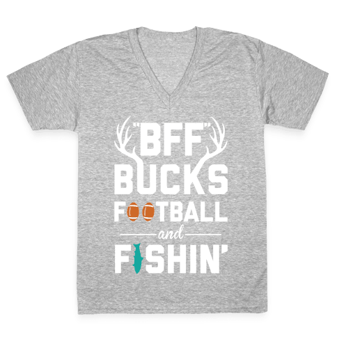 Country BFF V-Neck Tee Shirt