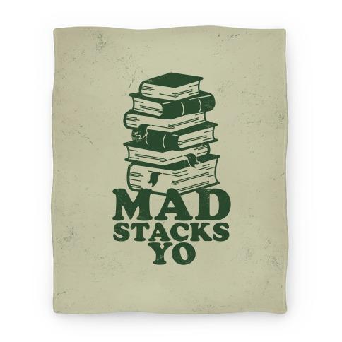 Mad Stacks Yo Blanket Blanket