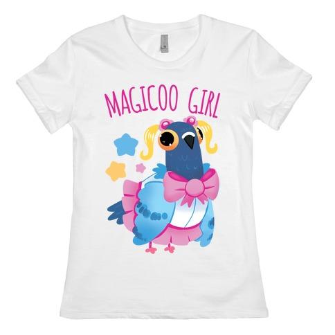 Magicoo Girl Womens T-Shirt