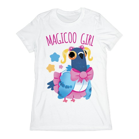 Magicoo Girl Womens T-Shirt