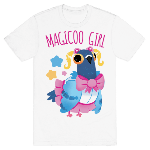 Magicoo Girl Mens/Unisex T-Shirt