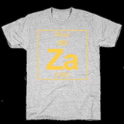 Pizza Mens T-Shirt