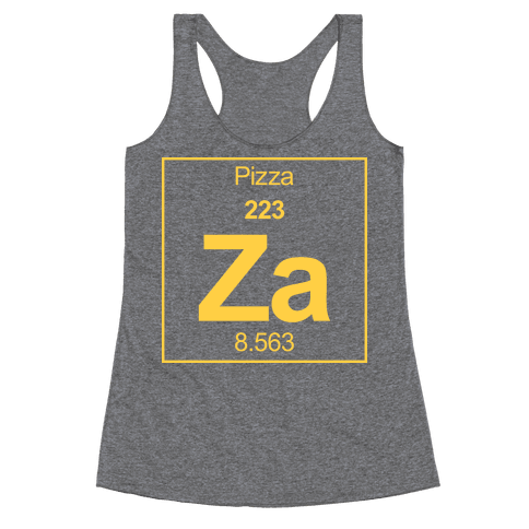 Pizza Racerback Tank Top