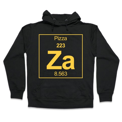 Pizza Hooded Sweatshirt