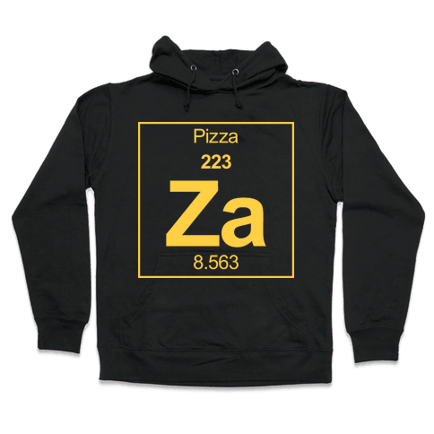 Pizza Hooded Sweatshirt