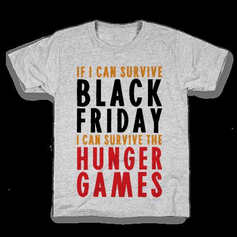Black Friday Hunger Games Kids T-Shirt