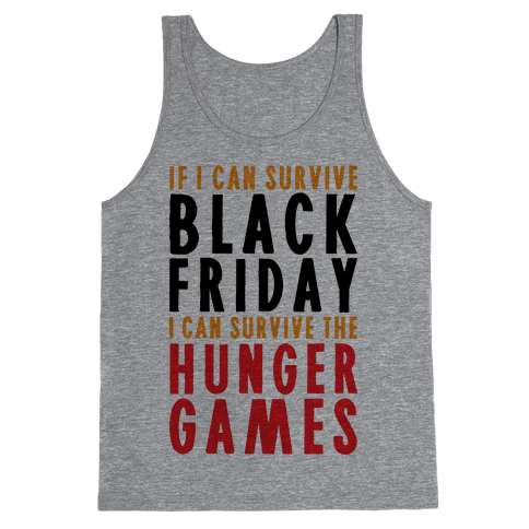 Black Friday Hunger Games Tank Top