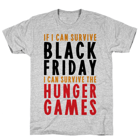 Black Friday Hunger Games Mens T-Shirt
