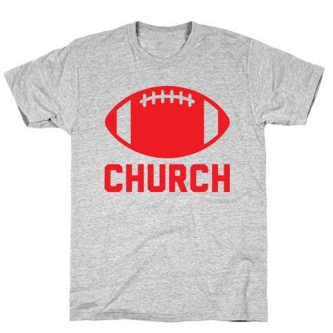 Football Church T-Shirt