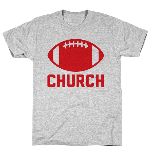 Football Church Mens T-Shirt