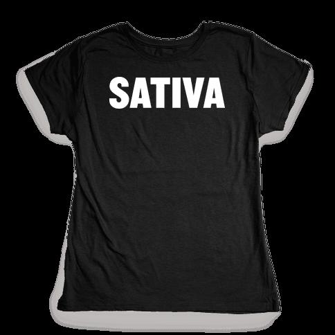 Sativa Womens T-Shirt
