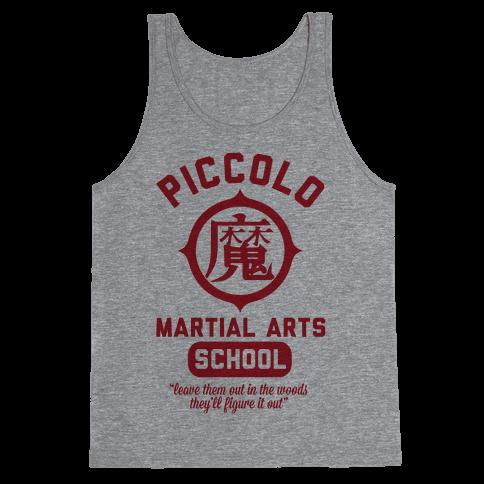 Piccolo Martial Arts School Tank Top