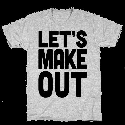 Let's Make Out (Dark Tank) Mens T-Shirt