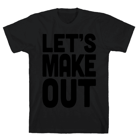 Let's Make Out (Dark Tank) Mens T-Shirt