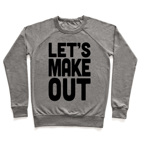 Let's Make Out (Dark Tank) Pullover