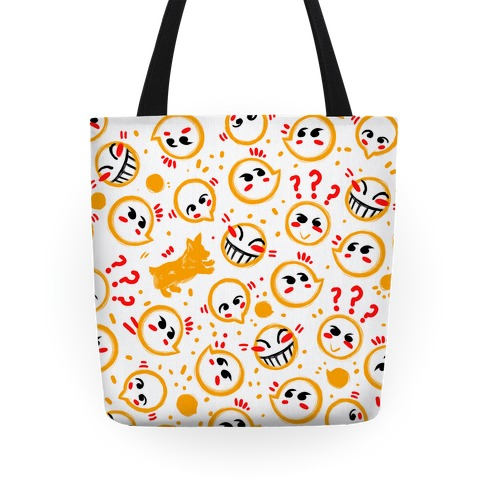 Corgi and Hacker Pattern Tote
