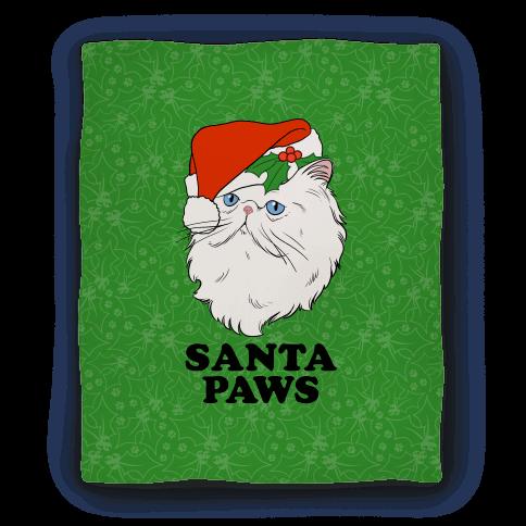 Santa Paws Blanket