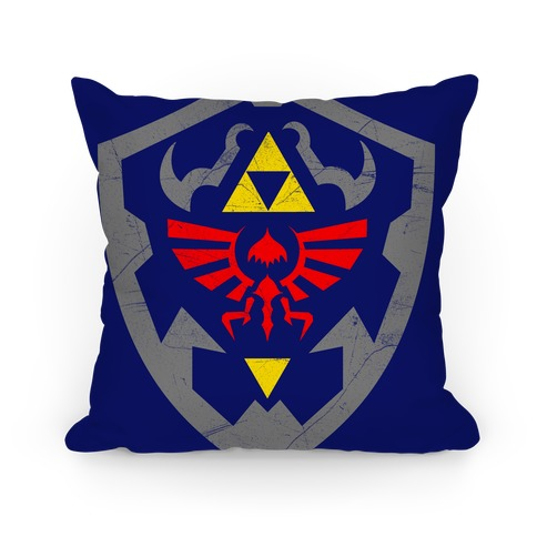 Hylian Shield Pillow