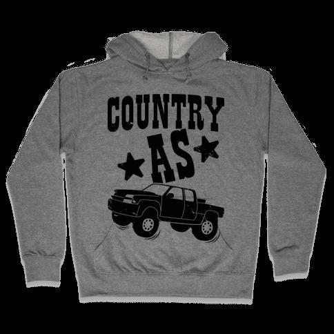 Country as Truck Hooded Sweatshirt