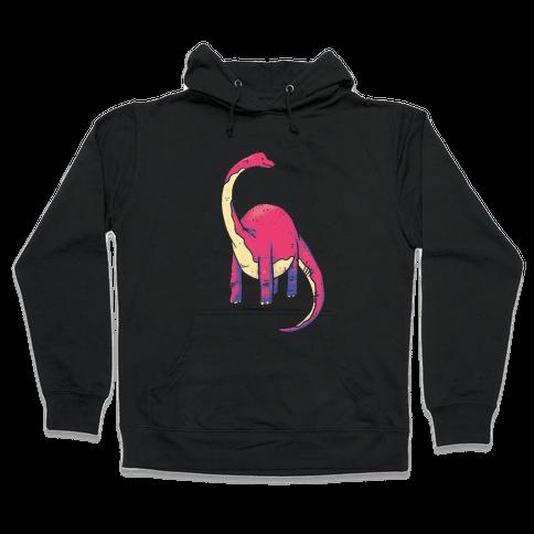 Derpy Dinosaur Hooded Sweatshirt