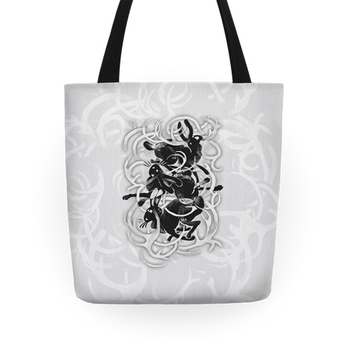 Jackalope In The Woods Tote