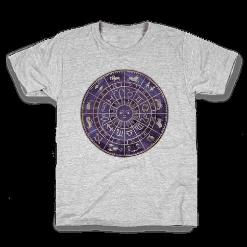 Zodiac Calendar Kids T-Shirt