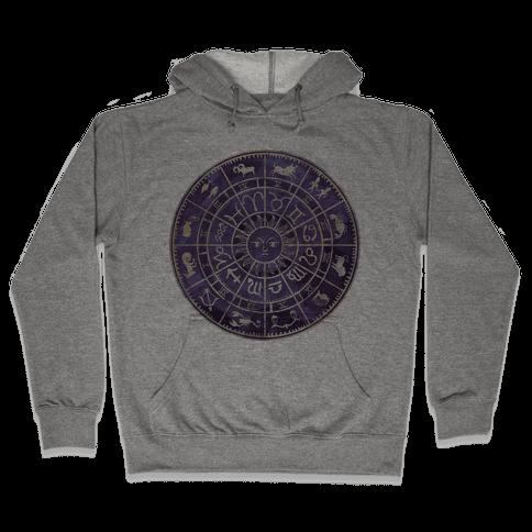 Zodiac Calendar Hooded Sweatshirt