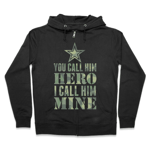 You Call Him Hero Zip Hoodie