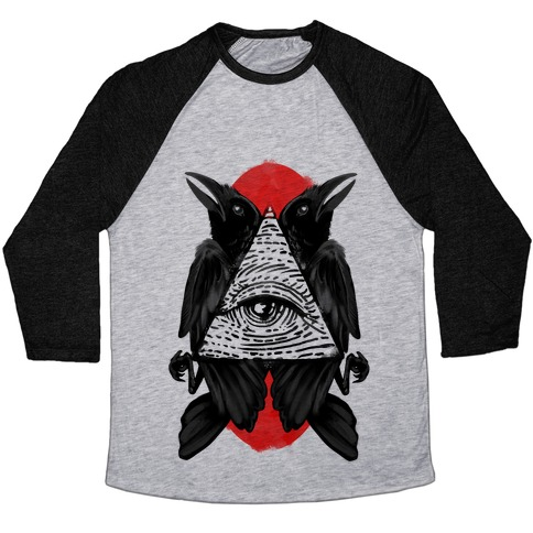 Crow's Illuminati Baseball Tee