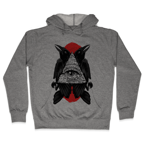 Crow's Illuminati Hooded Sweatshirt