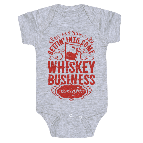 Whiskey Business Baby Onesy