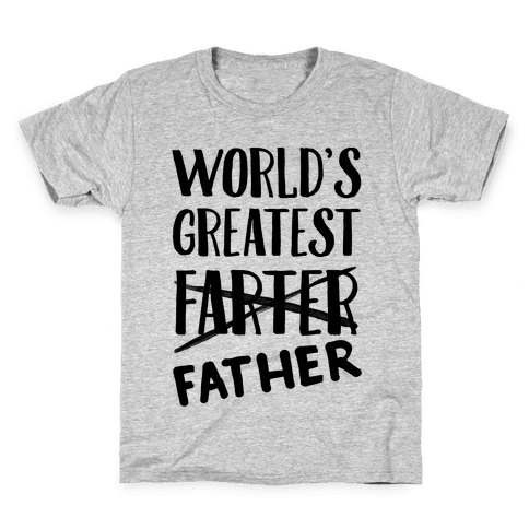 World's Greatest Farter Kids T-Shirt