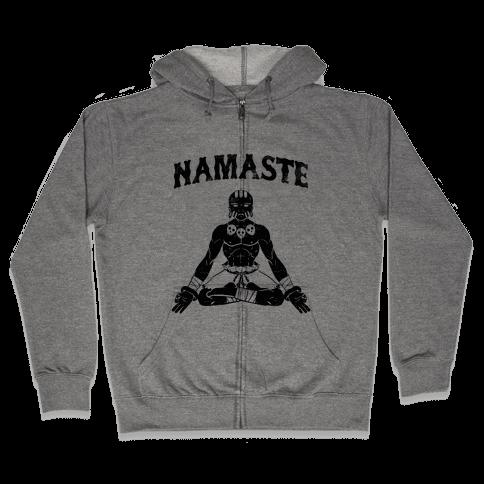 Namaste Dhalsim Zip Hoodie