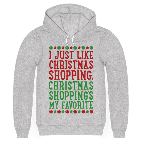 Christmas Shopping's My Favorite