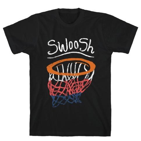 Basketball Hoop Swoosh (Vintage) T-Shirt