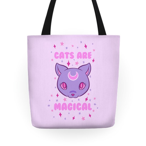 Cats Are Magical Tote